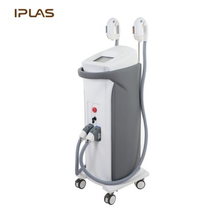 IPL SHR hair removal and skin rejuvenation beauty machine