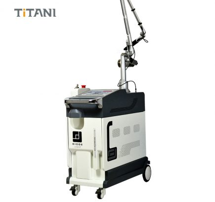 Professional 1064/532nm Q-switched nd yag laser tattoo removal pigmentation removal machine