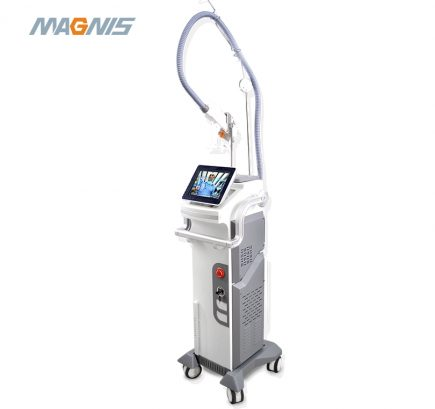 Double crystal Q-switched laser tattoo removal and pigment removal beauty machine