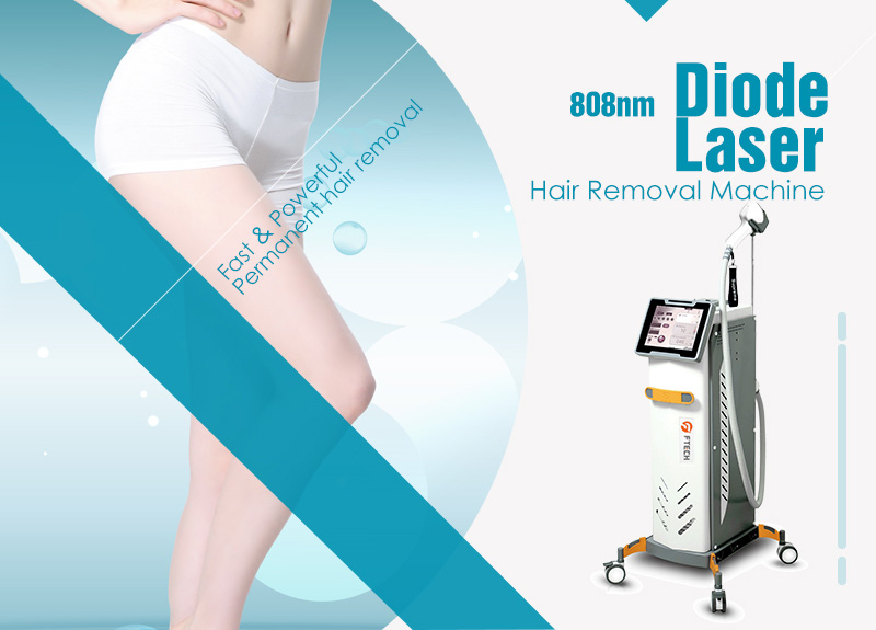 808nm Diode Laser Hair Removal Machine Ftech