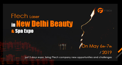 Ftech Laser in New Delhi Beauty & Spa Expo
