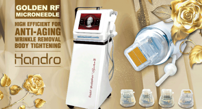 Your skin needs better care - Gold RF Microneedles