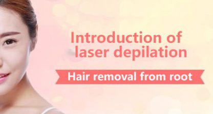 Introduction of laser depilation