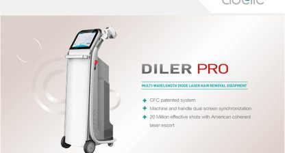 Advantages and clinical parameters of painless laser hair removal